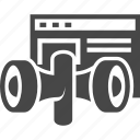 internet, marketing, megaphone, page, seo icon