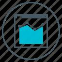 analitics, campaign, chart, seo, webpage icon