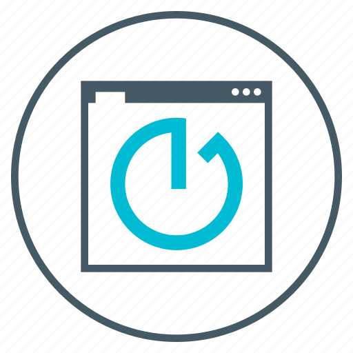 clock, page, seo, speed, timer, webpage icon