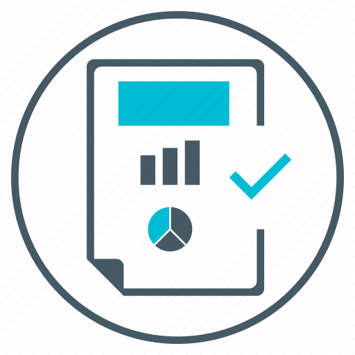 chart, document, file, pie, raport, seo icon