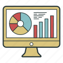analysis, analytics, chart, diagram icon