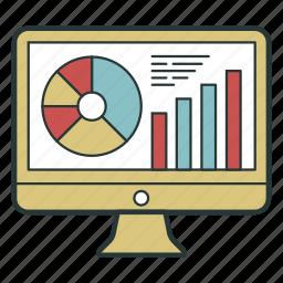 analysis, analytics, chart, diagram icon