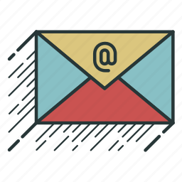 correspondence, email, mail, message icon