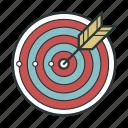 arrow, darts, goal, target