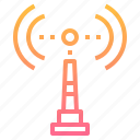 business, communication, internet, online, signal icon