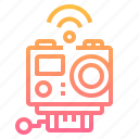 action, camera, internet, wifi, wireless icon