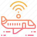 aeroplane, air, internet, plane, service, wireless