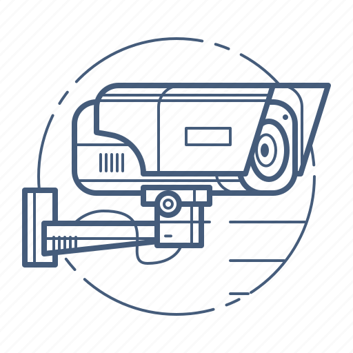 camera, internet of things, security, surveillance icon