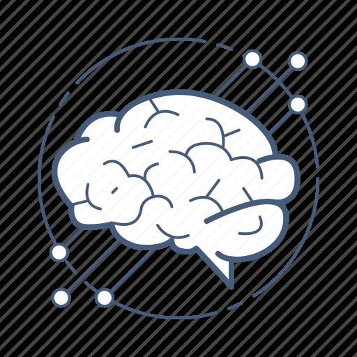 artificial, brain, intelligence, neural icon