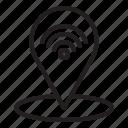 iot, navigator, internet of things icon