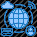 network, world, cloud, server, wifi