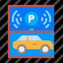 automatic, car, park, parking, smart