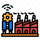 factory, industry, manufactory, powerplant, smart