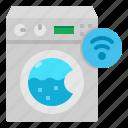 internet, machine, smart, things, washing, wifi