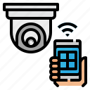 camera, cctv, internet, smartphone, things, wifi