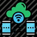cloud, file, internet, things, transfer