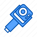 camera, gimbal, stabilization, stabilizer, video icon