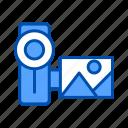 camera, filming, video camera icon
