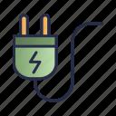 electric, energy, plug, power