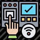 access, fingerprint, identification, privacy, scanner