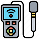 monitor, appliance, meters, signal, control icon