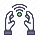 internet of things, internet, iot, wireless, hand, wifi, care