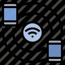 cellular, connect, hotspot, internet, network, share, wifi