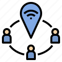 community, gps, hotspot, internet, network, signal, wifi