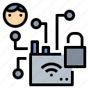 encrypt, hacker, security, signal, unlock, wifi