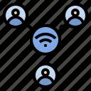 cellular, hotspot, network, share, wifi