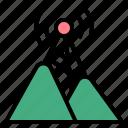 hotspot, mountain, network, share, signal, wifi