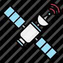 satellite, communication, signal, space, technology, internet, network