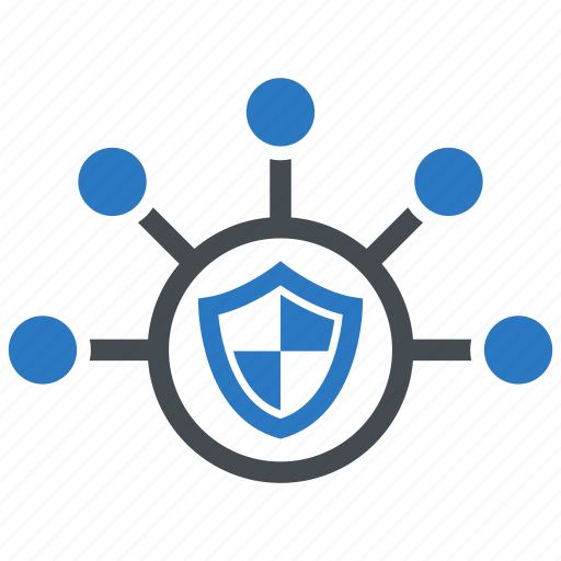 network, networking, protection, security icon
