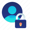 lock, account, protection, user, privacy