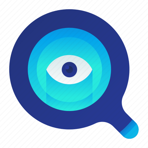 Audit, eye, magnifier, review, view icon - Download on Iconfinder