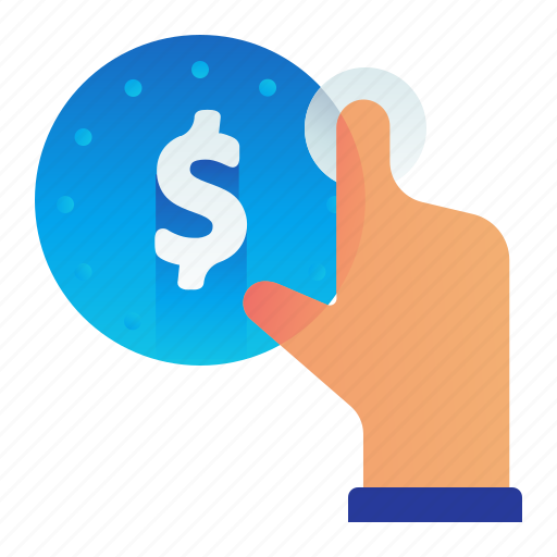 click, cost, dollar, finance, money icon