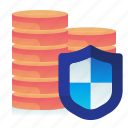crypto, protection, safety, security, shield icon