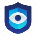 eye, iris, protection, safety, security icon