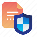 document, file, privacy, protection, shield