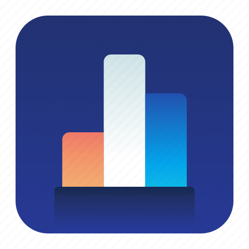 analytics, bar, chart, graph, statistics icon