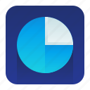 analytics, chart, graph, pie, statistics icon