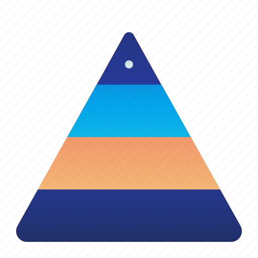 Hierarchy, levels, management, triangle icon - Download on Iconfinder