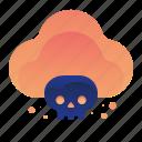cloud, infected, lethal, storage, virus