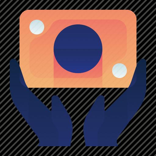 Finance, gesture, hand, investment, money icon - Download on Iconfinder