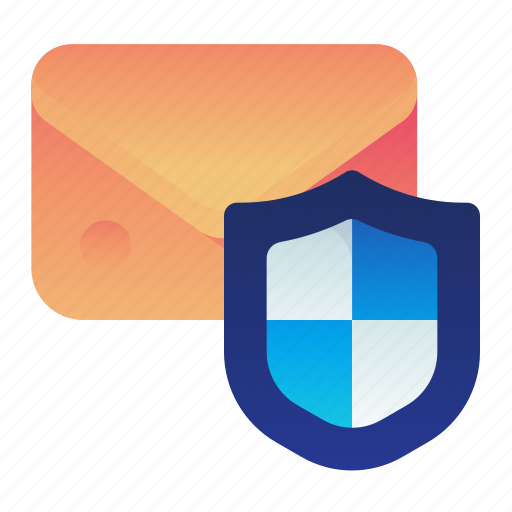 Email, mail, message, privacy, protection, shield icon - Download on Iconfinder