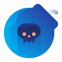 bomb, dead, deadly, lethal, virus icon