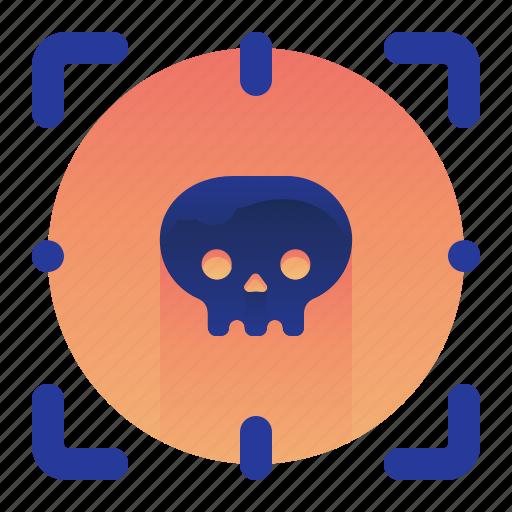 Detect, detection, lethal, scan, scanner, virus icon - Download on Iconfinder