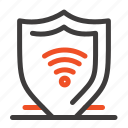 internet, protect, security, shield icon