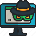 spyware, hacker, computer, security, steal