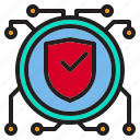 beware, circuit, guard, hacker, internet, online, protection icon